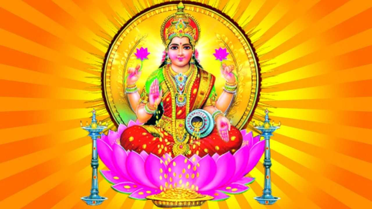 Laxmi Mata Photo Maa Laxmi Wallpaper for Mobile Free Download
